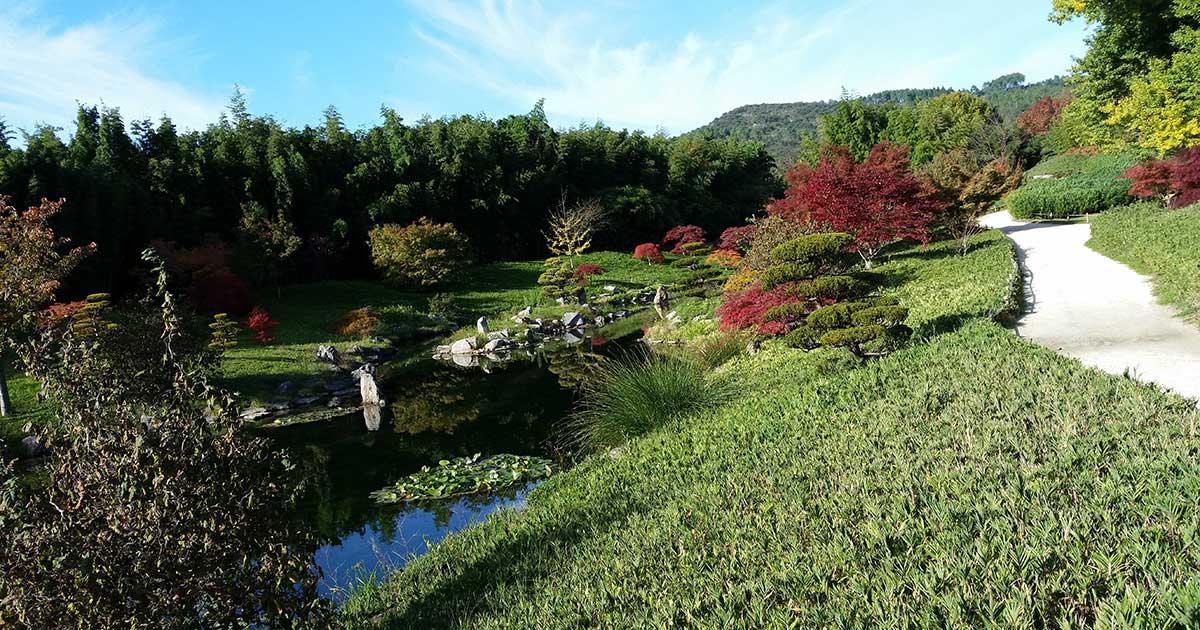 La Bambouseraie d'Anduze, jardin remarquable